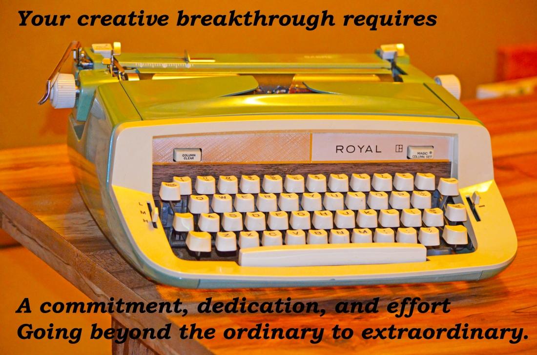 #1 Creative Statement - Typewriter