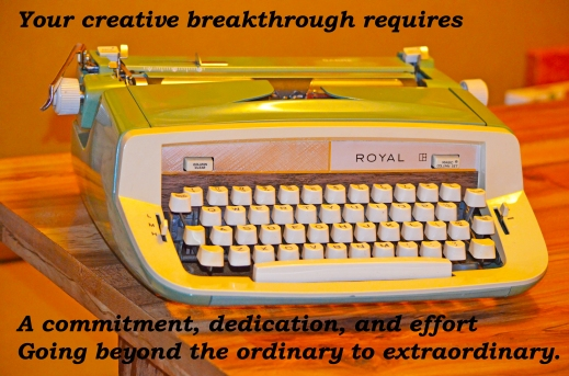 #1 Creative Statement - Typewriter